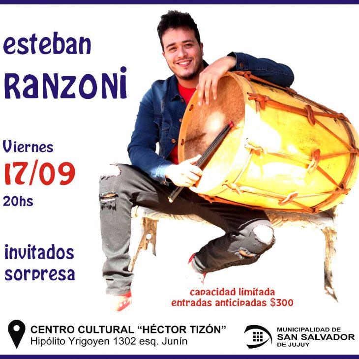 Presentación de Esteban Ranzoni