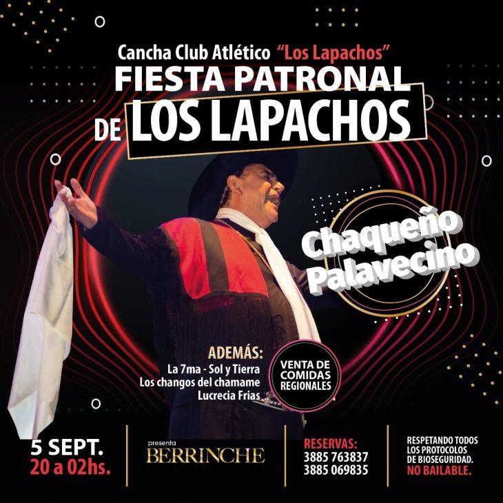 El chaqueño Palavecino en Los Lapachos