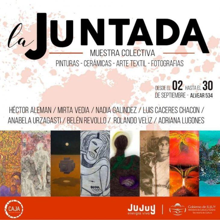 Muestra colectiva «La Juntada en el C.A.J.A.»