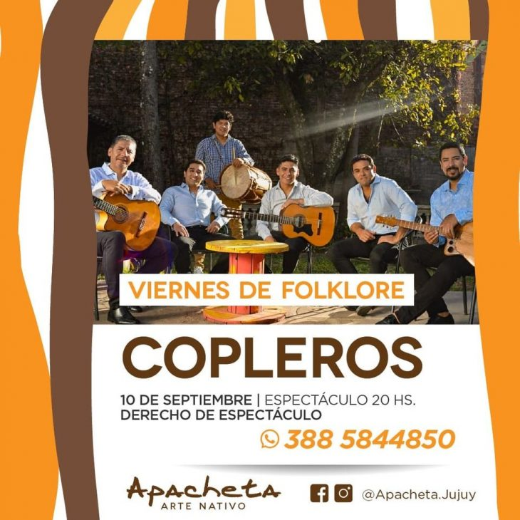 Copleros en Apacheta
