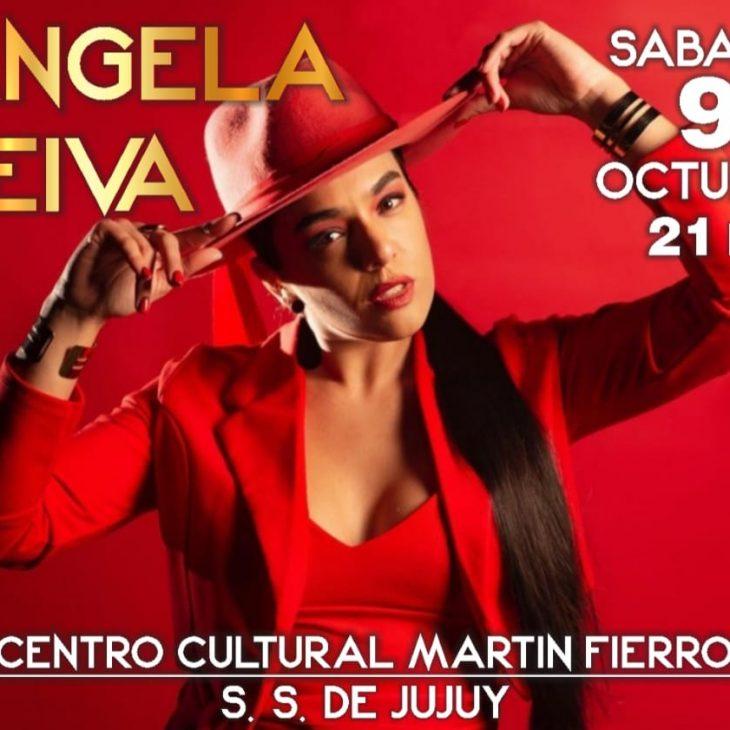 Angela Leiva en el Centro Cultural Martin Fierro