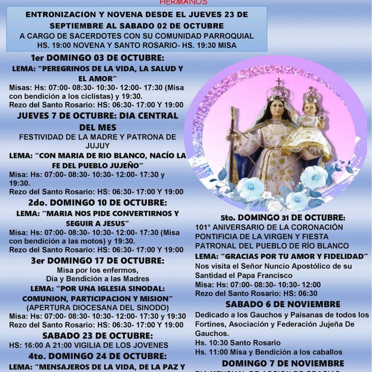 Fiesta en Honor a Ntra. Sra. de Río Blanco