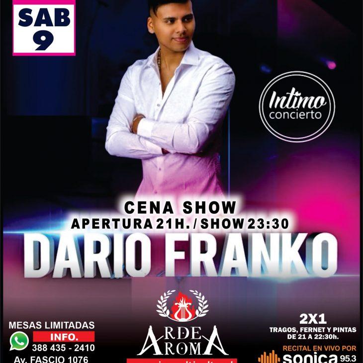Dario Franko en Arde Roma