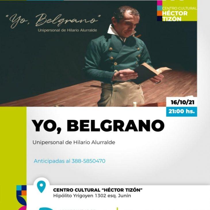 Teatro: «Yo Belgrano»