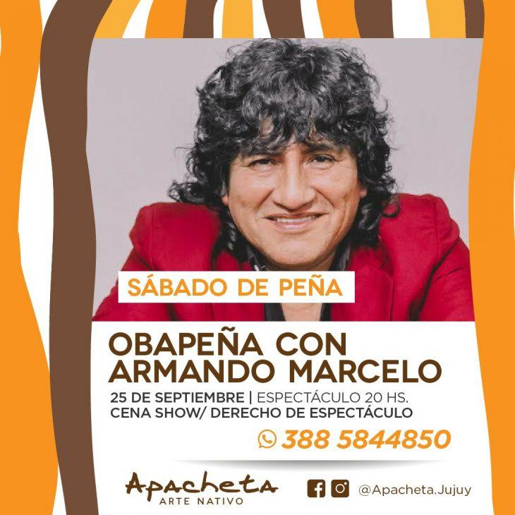 Obapeña con Armando Marcelo en Apacheta