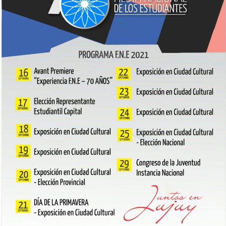 70° Fiesta Nacional de los Estudiantes