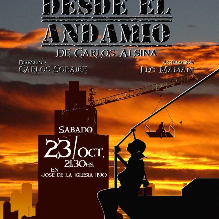 Teatro: «Desde el Andamio»