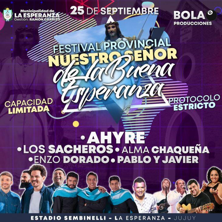 Festival Provincial a Nuestro Señor de la Buena Esperanza