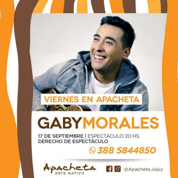 Gabi Morales en Apacheta Arte Andino