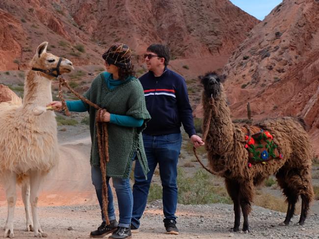 Paseo con Llamas