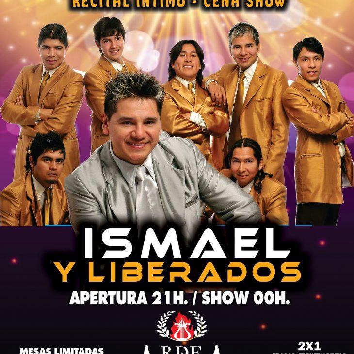 ISMAEL y el Grupo LIBERADOS en Arde Roma