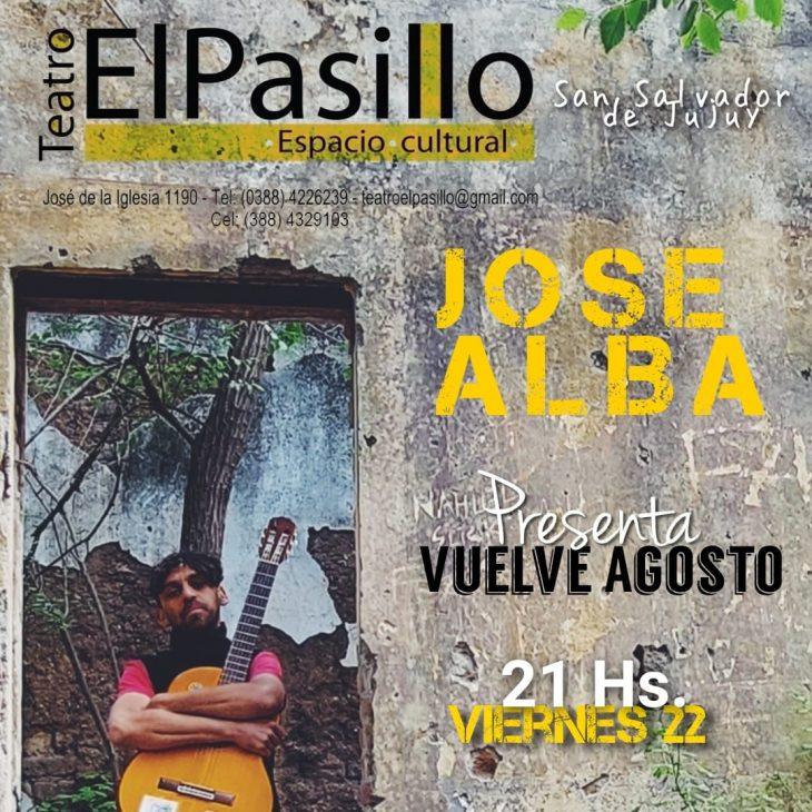 José Alba en Teatro El Pasillo