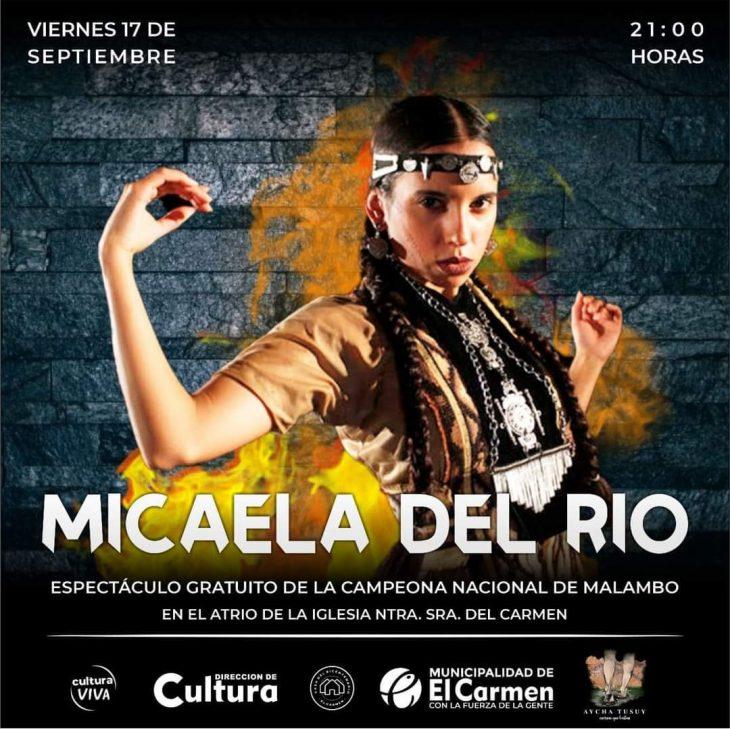 Presentación de la Campeona Nacional de Malambo Micaela Del Río