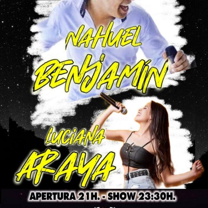 Nahuel Benjamín y Luciana Araya en Arde Roma