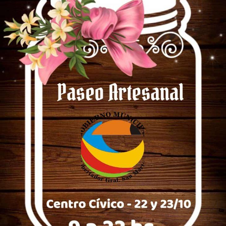 Paseo Artesanal en Centro Cívico