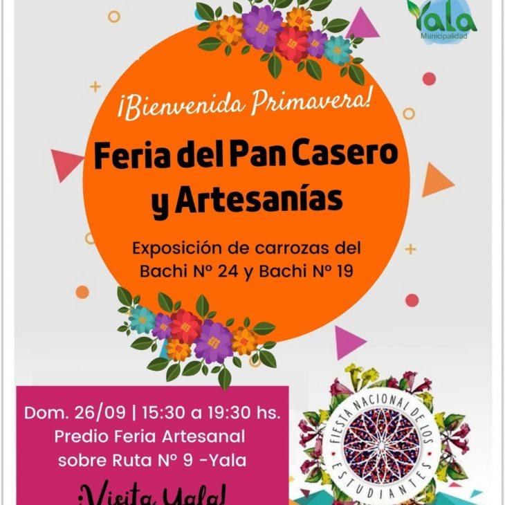 Feria del Pan Casero y Artesanías en Yala
