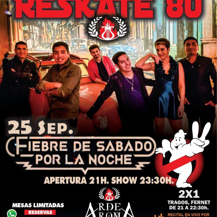 «ResKate 80» en Arde Roma