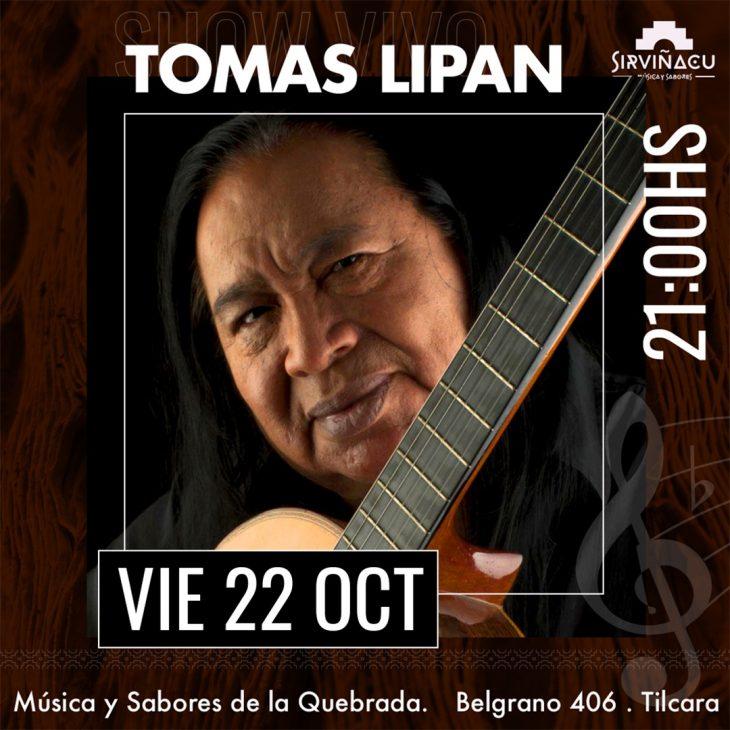 Tomás Lipán en Tilcara