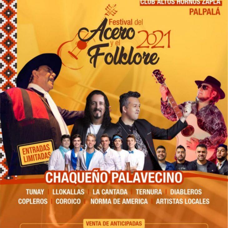 Festival del ACERO y del FOLCLORE 2021