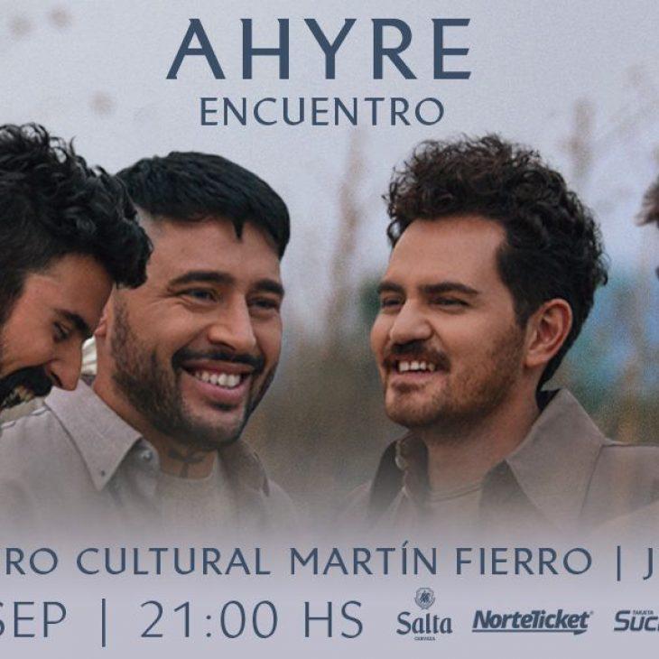 Presentación de Ahire en Jujuy