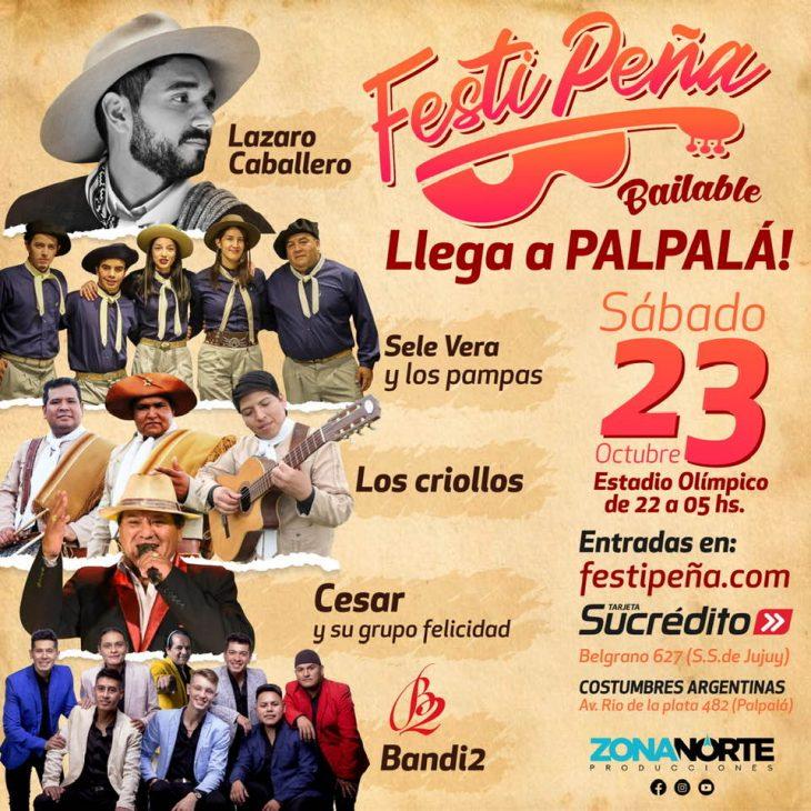 FestiPeña bailable en Palpalá