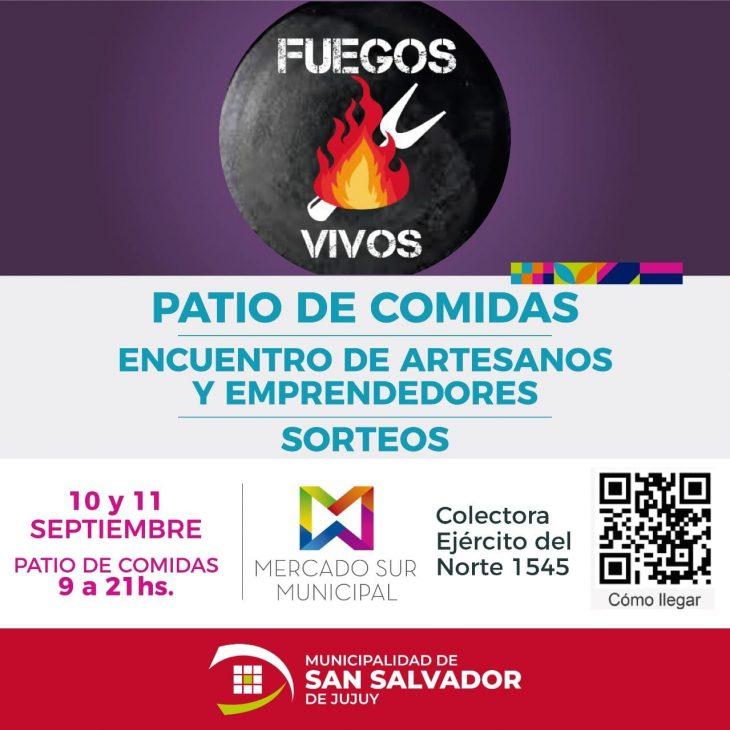 «Fuegos Vivos» en el Mercado Sur