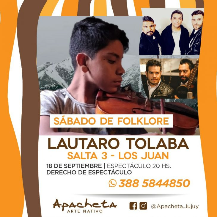 Lautaro Tolaba en Apacheta