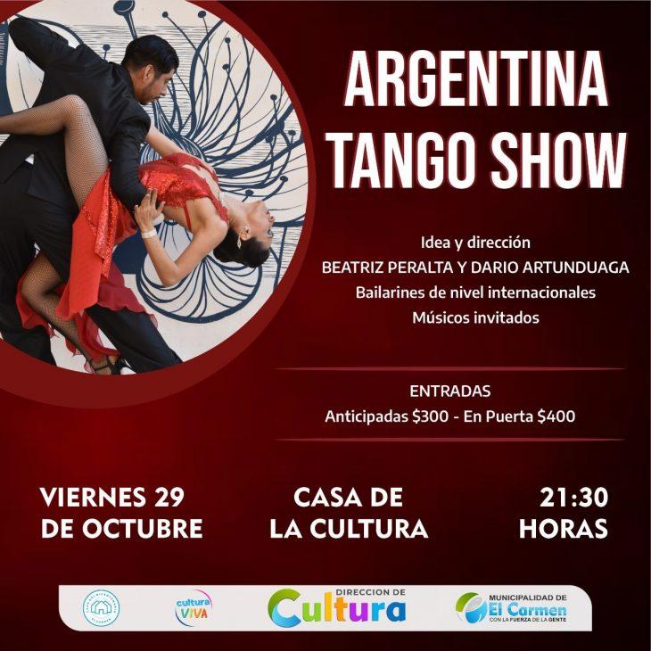 Argentina Tango Show en El Carmen